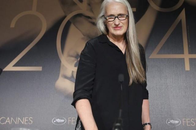 La réalisatrice néo-zélandaise aux longs cheveux poivre et... (PHOTO ERIC GAILLARD, REUTERS)