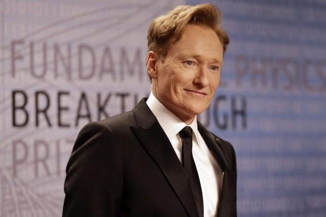 Conanest diffusé depuis novembre 2010. L'émission est présentée... (Photo Ben Margot, AP)
