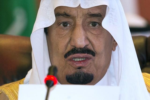 Le vice-ministre de la Défense, le prince Salmane... (Photo MANDEL NGAN, AFP)