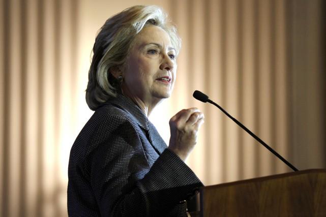 Hillary Clinton est favorite des sondages pour la... (PHOTO SUSAN WALSH, ARCHIVES AP)