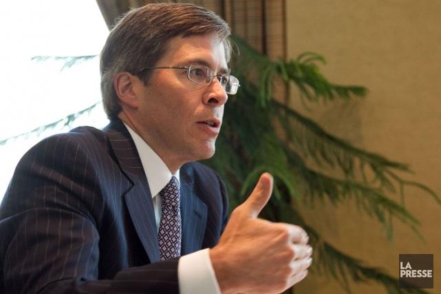 Le patron de la Financière Power, Jeffrey Orr... (Photo Hugo-Sébastien Aubert, archives La Presse)