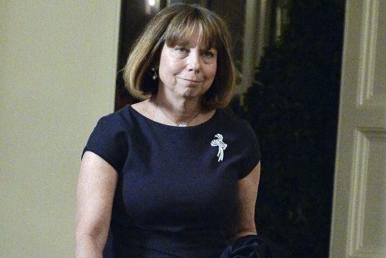 JillAbramson, 60 ans, a été la première femme... (PHOTO NICHOLAS KAMM, ARCHIVES AFP)