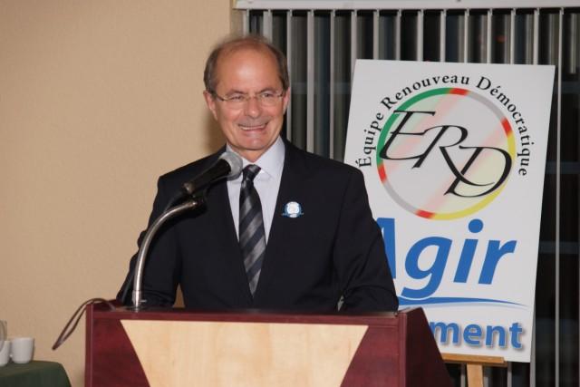Le chef de l'Équipe du renouveau démocratique (ERD),... ((Archives))
