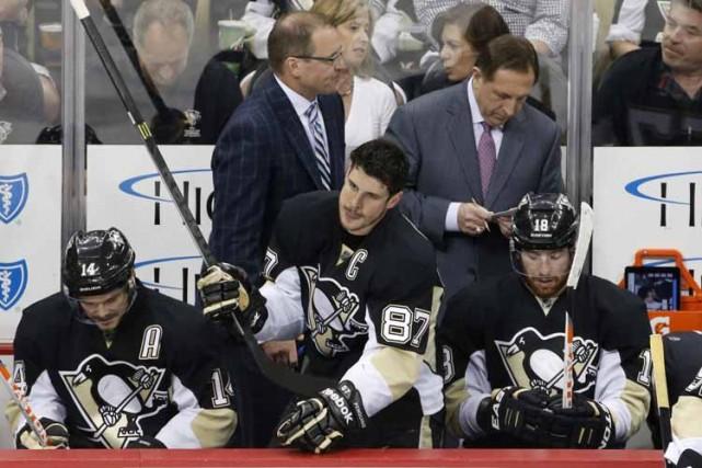 Sidney Crosby sera de retour. Evgeni Malkin aussi.Après ça, bien malin celui... (Photo: AP)