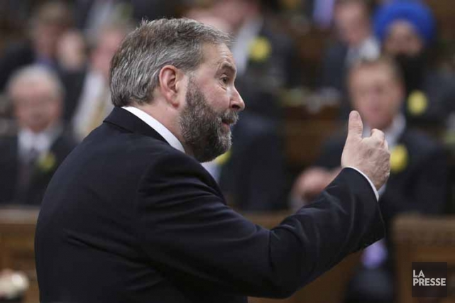 Le chef du NPD, Thomas Mulcair.... (Photo: Reuters)