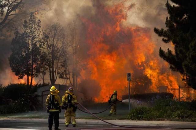La Californie est régulièrement touchée par de violents... (Photo: Reuters)