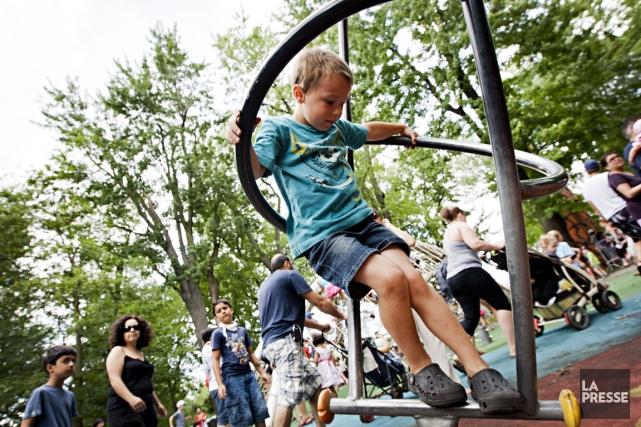 La fête des enfants, au Parc Jean-Drapeau, l'année... (Photo Anne Gauthier, archives La Presse)