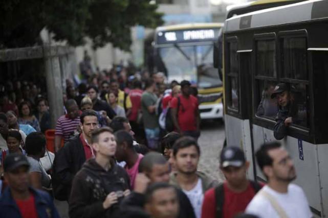 Mardi après-midi, la justice avait imposé le maintien... (Photo: Reuters)