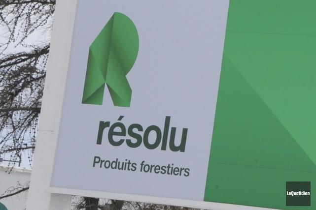 Produits forestiers Résolu (T.RFP) a dévoilé jeudi un bénéfice... (Photo archives Le Quotidien)