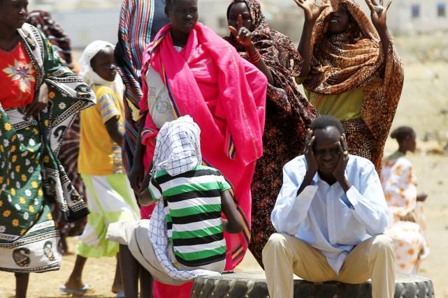 Depuis le début du conflit sud-soudanais il y... (PHOTO MOHAMED NURELDIN ABDALLAH, REUTERS)