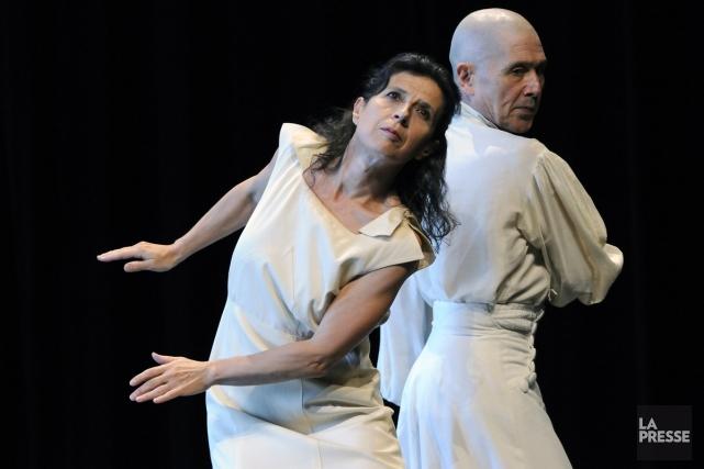 Lucie Grégoire, dans In Between, création présentée à... (Photo: archives La Presse)