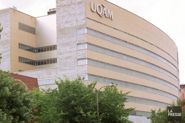Le réseau s'est servi du nom de l'UQAM... (Photo archives La Presse)