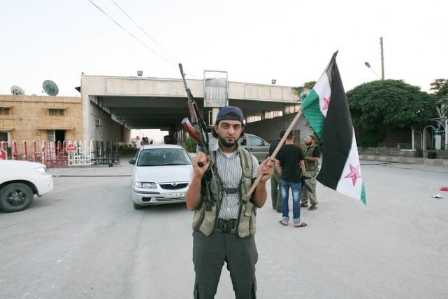 Le côté syrien du point de passage de... (PHOTO ADEM ALTAN, ARCHIVES AFP)