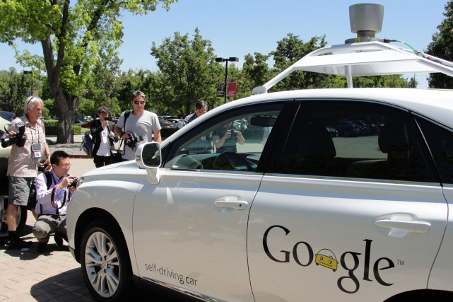 La voiture sans conducteur de Google est quasiment... (Photo AFP)