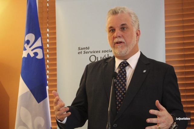 Philippe Couillard... (Photo Isabelle Tremblay, archives Le Quotidien)
