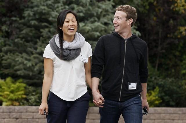 Mark Zuckerberga épousé sa petite amie Priscilla Chan... (PHOTO RICK WILKING, ARCHIVES REUTERS)
