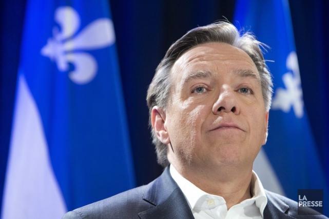 François Legault... (Photo Robert Skinner, La Presse)