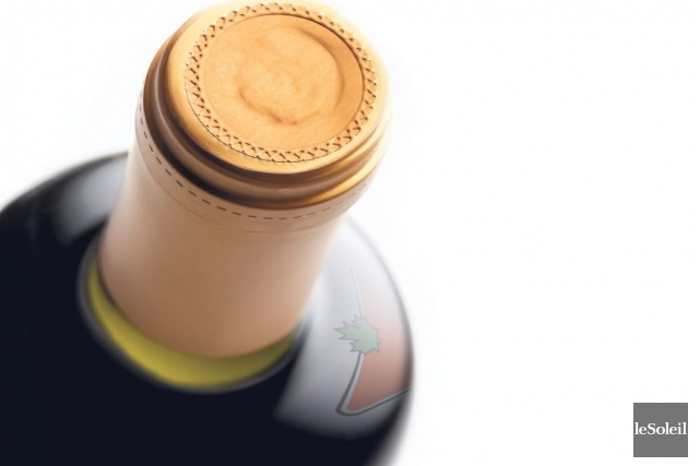 La gamme de vins Julia Wine offerte dans... (Montage infographique Le Soleil)