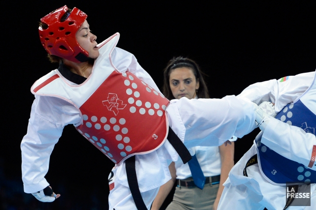 Karine Sergerie a remporté des médailles dans toutes... (Photo Bernard Brault, archives La Presse)