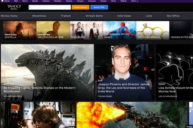Yahoo! Movies fait suite au lancement de deux...