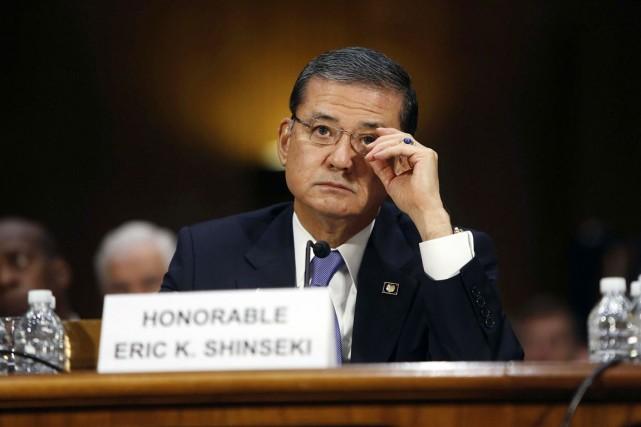 Convoqué au Sénat, le secrétaire aux anciens combattants... (PHOTO JONATHAN ERNST, REUTERS)