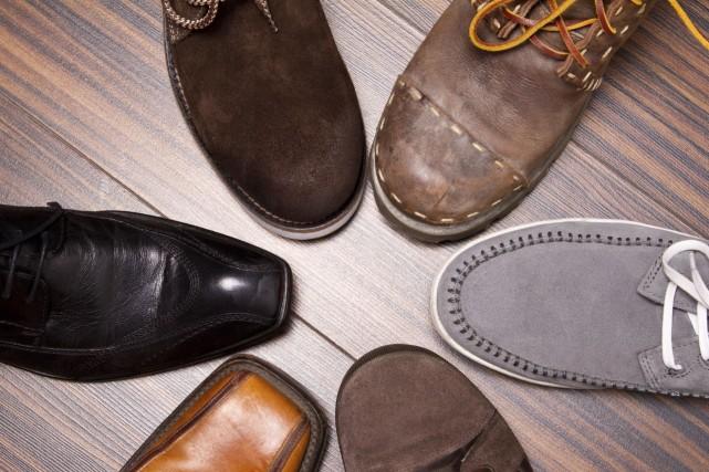 Les hommes considèrent la chaussure comme un investissement... (Photo Digital/Thinkstock)