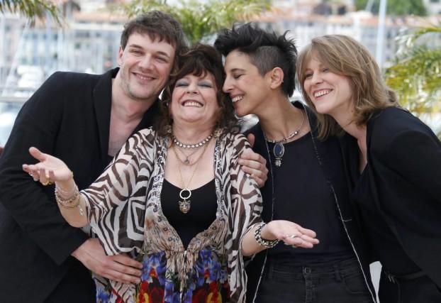 Les coréalisateurs Samuel Theis, Marie Amachoukeli et Claire... (Photo: Reuters)