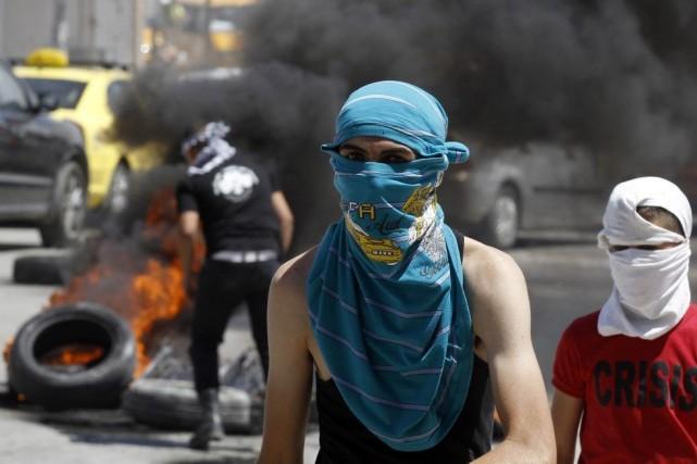Deux Palestiniens ont été tués jeudi par l'armée israélienne en Cisjordanie... (Photo Reuters)