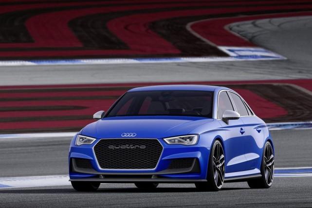 Le concept Audi A3 clubsport... (Photo fournie par Audi)