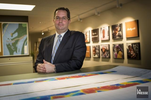 Benoit Desormeaux, PDG de Semafo.... (Photo Olivier Pontbriand, Archives La Presse)