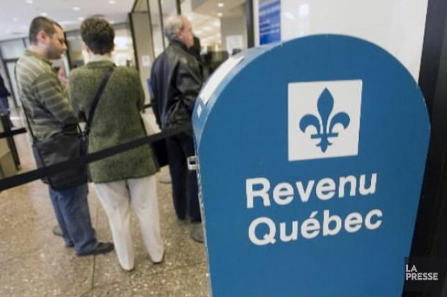Les contribuables ont jusqu'au 30 avril pour produire... (Photo André Pichette, archives La Presse)