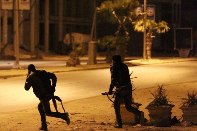 Depuis la chute du régime de Mouammar Kadhafi... (PHOTO ABDULLAH DOMA, ARCHIVES AFP)