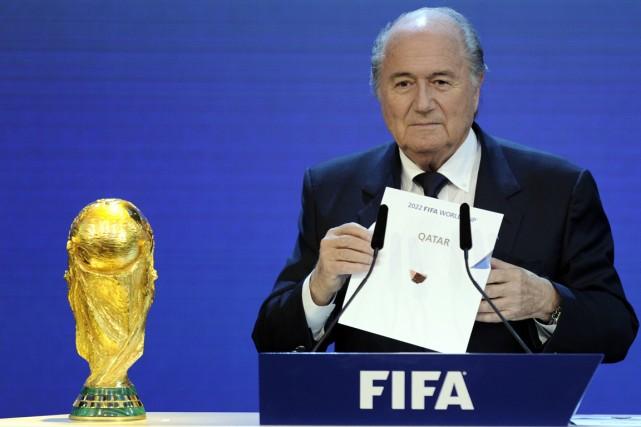 Le président de la FIFA, Joseph Blatter.... (Photo Philippe Desmazes, archives AFP)