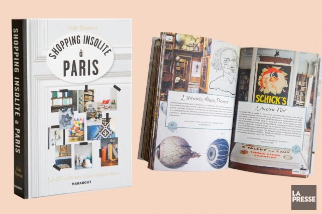 Très charmant guide de Paris pour les esthètes qui aiment mieux courir les... (PHOTO ALAIN ROBERGE, LA PRESSE)