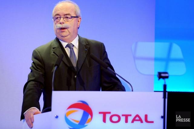 Le grand patron de Total, Christophe de Margerie.... (Photo AFP)