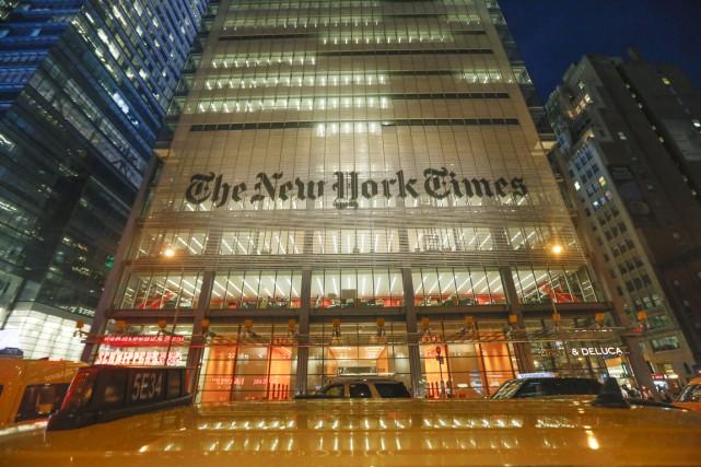Le siège du New York Times à New... (PHOTO JABIN BOTSFORD, ARCHIVES THE NEW YORK TIMES)