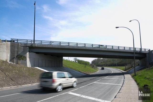Ce viaduc a été reconstruit lors d'un chantier... (Photo Hugo-Sébastien Aubert, La Presse)