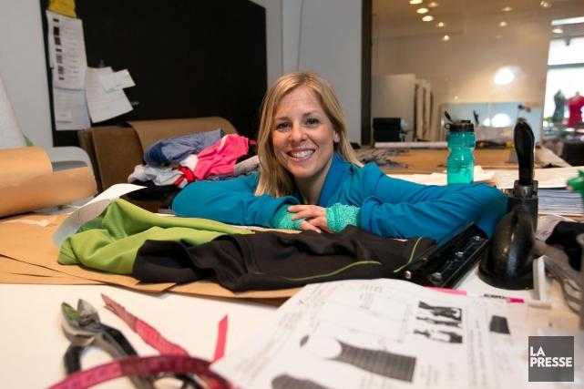 Katy St-Laurent a fondé son entreprise de vêtements... (PHOTO HUGO-SÉBASTIEN AUBERT, LA PRESSE)