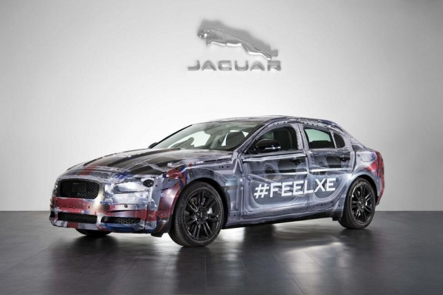 La Jaguar XE... (Photo fournie par Jaguar)