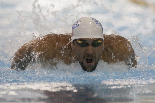 Michael Phelps.... (Photo USA Today Sports)