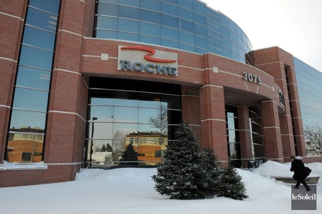 Le siège social de Roche est situé à... (Photothèque Le Soleil, Erick Labbé)
