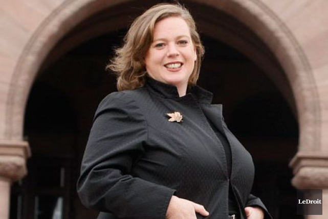 La progressiste-conservatrice Lisa MacLeod.... (Étienne Ranger, Archives LeDroit)