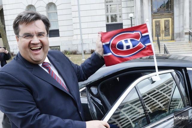 Le maire Denis Coderre.... (PHOTO JEAN-MARIE VILLENEUVE, LE SOLEIL)