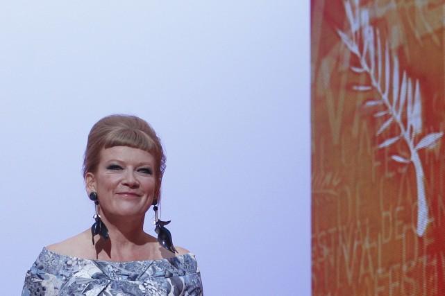 La cinéaste britannique Andrea Arnold.... (Photo Christian Hartmann, archives Reuters)