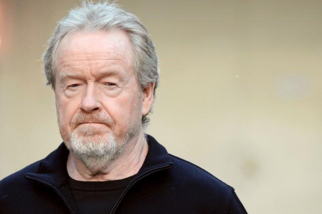 Le cinéaste britannique Ridley Scott... (Photo archives AFP)