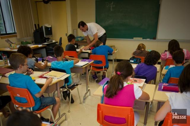 Les commissions scolaires doivent résister à la tentation... (PHOTO ANDRÉ PICHETTE, ARCHIVES LA PRESSE)