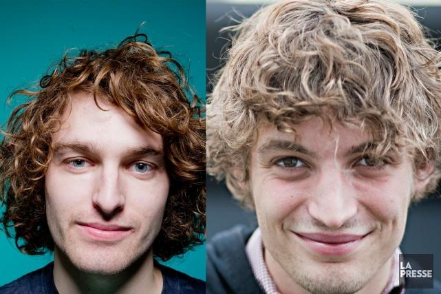 Philippe Brach et Niels Schneider... (Photomontage La Presse)