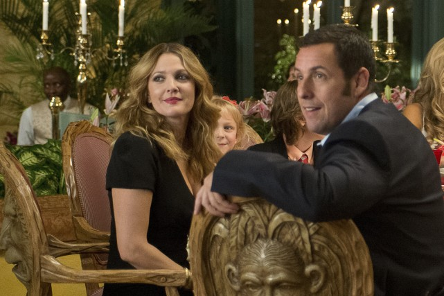 Drew Barrymore et Adam Sandler.... (Photo Warner Bros)