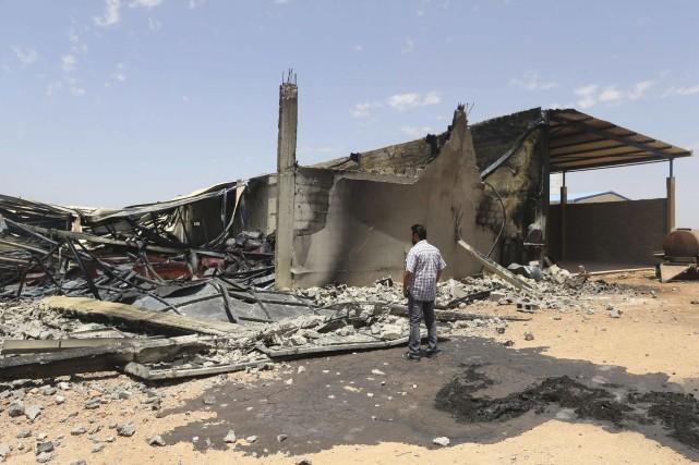 Ce raid a été mené malgré une décision... (PHOTO ESAM OMRAN AL-FETORI, REUTERS)