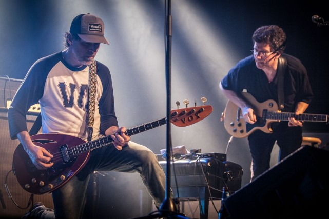 Fred Fortin (Gros Mené) et René Lussier.... (Photo Martin Morissette, fournie par FIMAV)